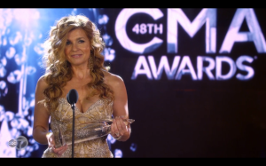 Rayna wins all 6 awards she was nominated for.