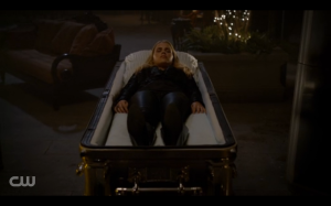 Rebekah's body is waiting for her to return.