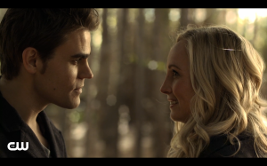 The look was in both of their eyes, why didn't Stefan just kiss her!