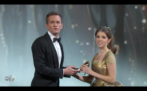 Neil Patrick Harris' was at his best during the opening of the ceremony.