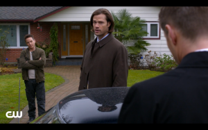 Cole shows up to make sure Sam and Dean don't kill his best friend.