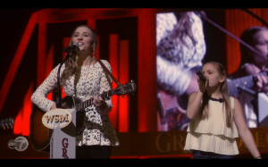 The Conrad sisters made their Opry debut!