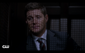 Dean actually gets deep with his confession.