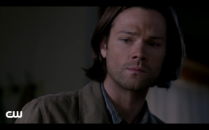 Sam is upset that he couldn't save Kit.