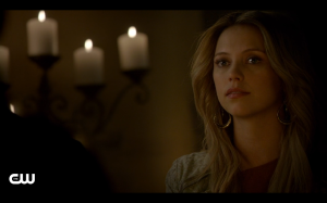 Freya tells Elijah and Klaus her story.