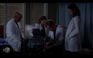 Owen, Amelia, Richard and April wait for Ruby to call back.