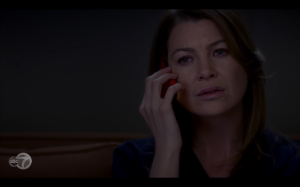 Meredith calls Derek only for another woman to answer. Who is she?