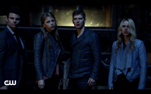 The Mikaelson family.