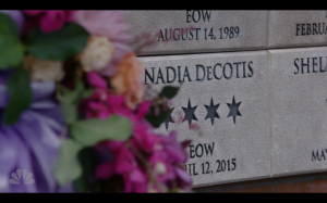 R.I.P. Nadia, you will be missed.