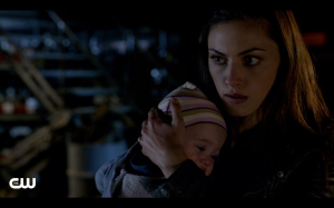Hayley wanted to teach her daughter, you don't leave anyone behind. So what exactly is Klaus teaching her?