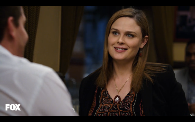 Booth and Brennan were quickly falling back into place.