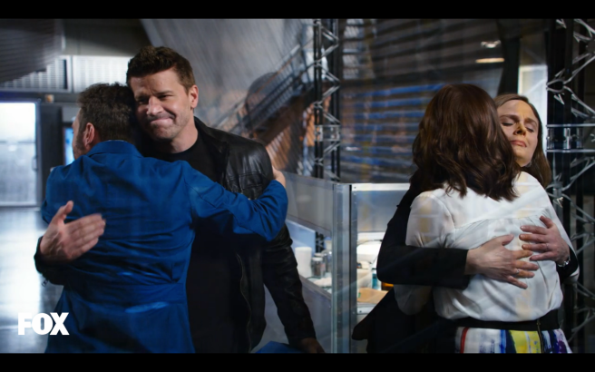 If I didn't know 'Bones' was coming back, I would have been crying a lot in this episode.