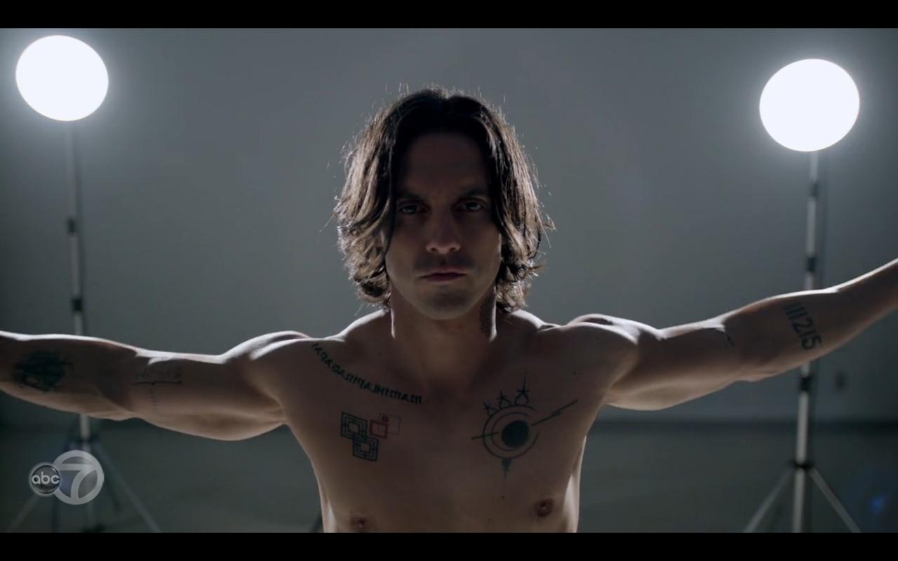 The whispers primetime addiction for Milo ventimiglia real tattoos